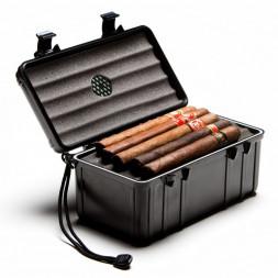 Cave de voyage 15 cigares noire