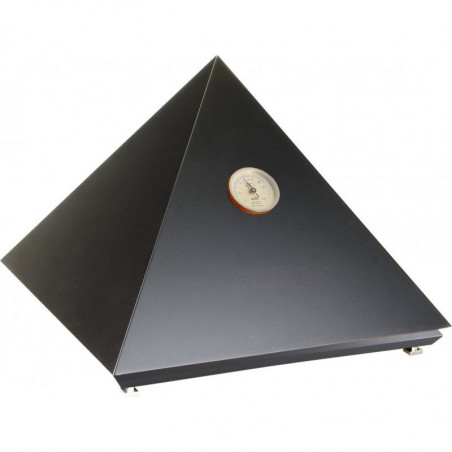 Cave à cigares Adorini Pyramide M - Noir