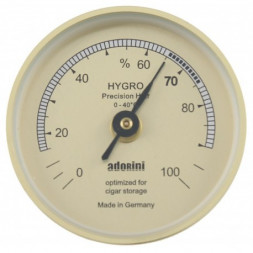 Hygromètre Adorini - Doré
