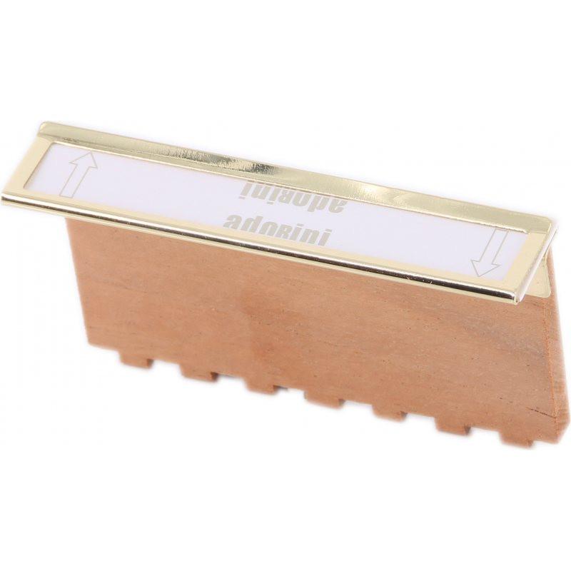Clip Adorini métal pour séparateur taille M et L